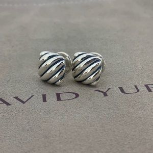 David Yurman Sterling Silver Cufflinks